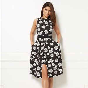 NY & CO / Eva Mendes Freya Floral Fit & Flare M